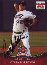 Paolo Espino 2010 Eastern League All Star (Autograph)