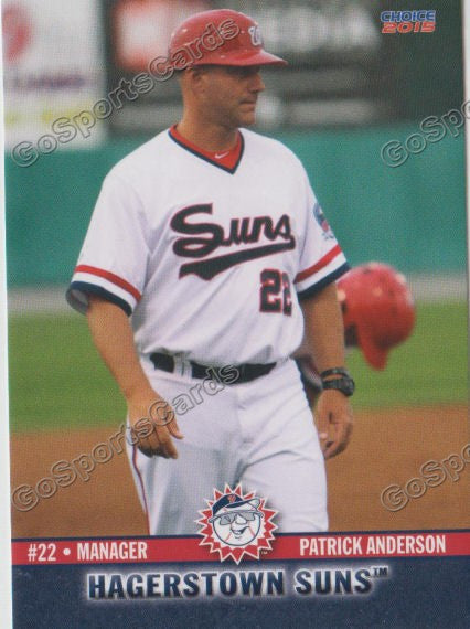 2015 Hagerstown Suns Patrick Anderson
