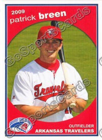 2009 Arkansas Travelers Patrick Breen