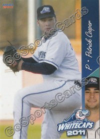 2011 West Michigan Whitecaps Patrick Cooper