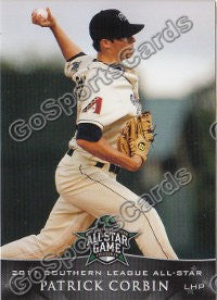 2011 Southern League All Star South Division Patrick Corbin