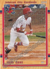 2008 Johnson City Cardinals Paul Cruz