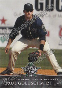 2011 Southern League All Star South Division Paul Goldschmidt