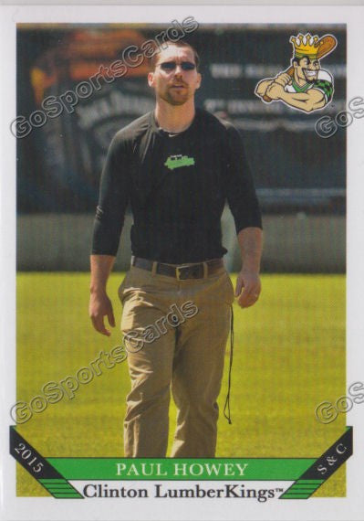 2015 Clinton Lumberkings Paul Howey