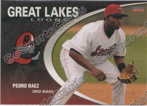 2008 Great Lakes Loons Pedro Baez