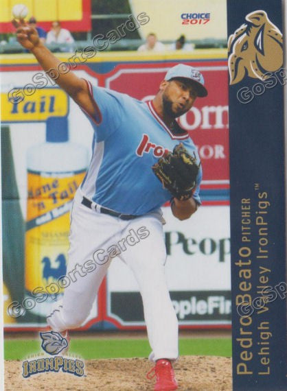 2017 Lehigh Valley IronPigs Pedro Beato
