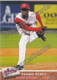 2009 Lowell Spinners Pedro Perez