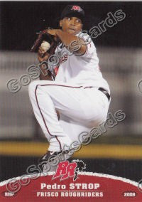2009 Frisco Roughriders Pedro Strop