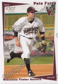 2010 Wisconsin Timber Rattlers Pete Fatse