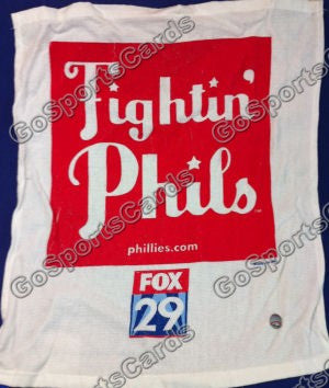 Philadelphia Phillies 2008 Playoff Rally Towel Fox 29