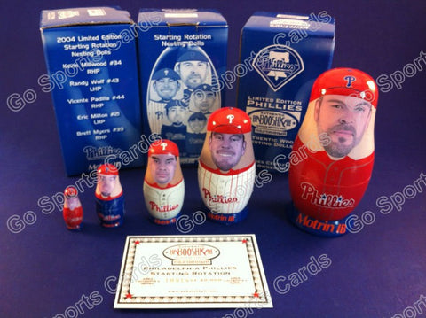 Philadephia Phillies Nesting Doll (Pitchers) SGA NIB