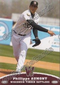 2008 Wisconsin Timber Rattlers Phillippe Aumont