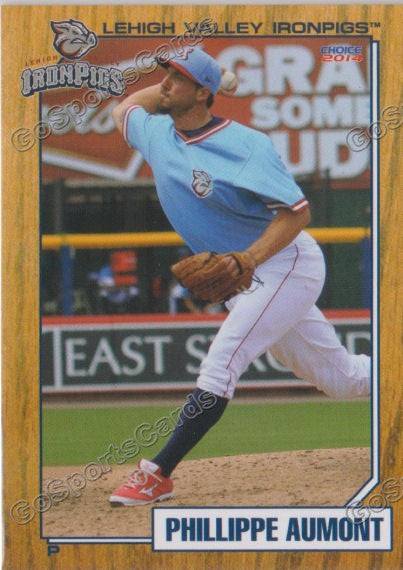 2014 Lehigh Valley IronPigs 2nd Phillippe Aumont