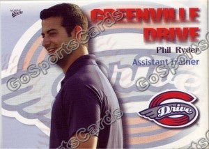 2009 Greenville Drive Phil Ryder