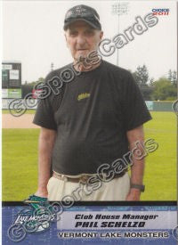 2011 Vermont Lake Monsters Phil Schelzo