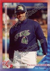 2003 Midwest League Top Prospects Prince Fielder