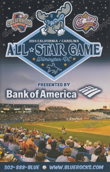 2014 Carolina California League All Star Program SGA