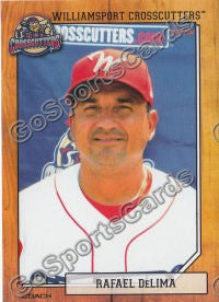 2012 Williamsport Crosscutters Rafael Delima