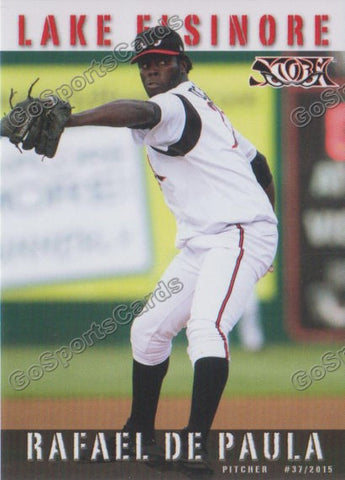 2015 Lake Elsinore Storm Team Set