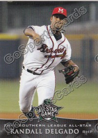 2011 Southern League All Star South Division Randall Delgado
