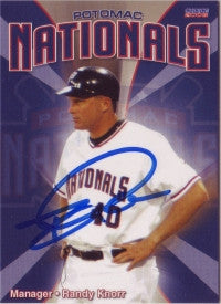 Randy Knorr 2008 Choice Potomac Nationals (Autograph)