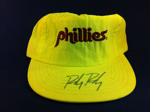 Randy Ready Autographed Philadelphia Phillies Hat ALS Charity