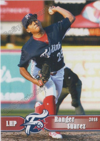 2018 Reading Fightin Phils Ranger Suarez
