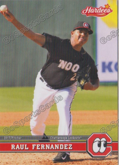 2017 Chattanooga Lookouts Raul Fernandez