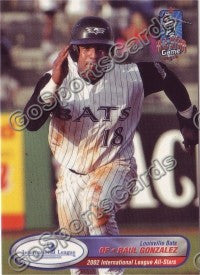 2002 International League All-Stars Choice Raul Gonzalez