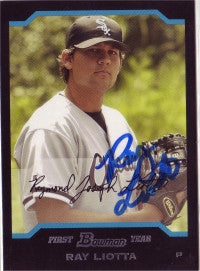 Ray Liotta 2005 Bowman Draft Picks #BDP69 (Autograph)