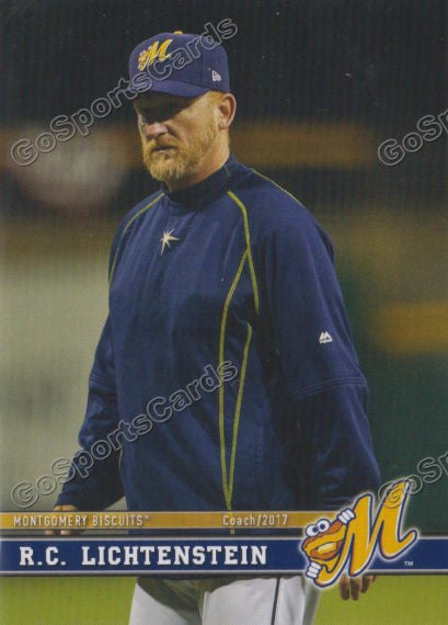 2017 Montgomery Biscuits RC Lichtenstein