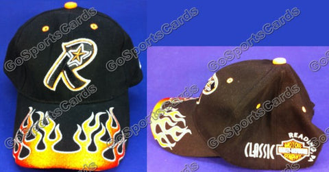 Reading Phillies Harley Davidson Flames Hat SGA