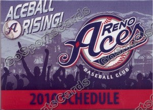 2010 Reno Aces Pocket Schedule