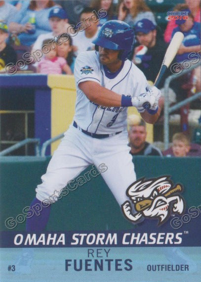 2016 Omaha Storm Chasers Reymond Fuentes