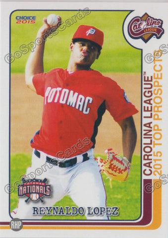 2015 Carolina League Top Prospect Reynaldo Lopez