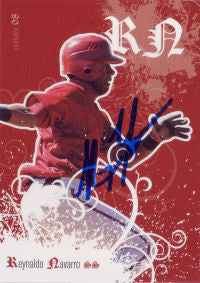 Rey Navarro 2008 Just Minors Justifiable (Autograph)