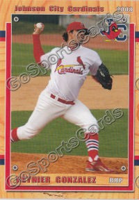 2008 Johnson City Cardinals Reynier Gonzalez