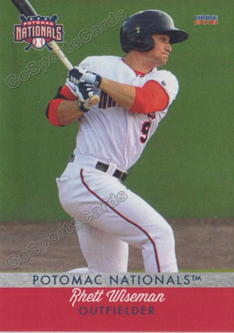2018 Potomac Nationals Rhett Wiseman