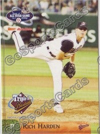 2003 Pacific Coast League All-Star Multi-Ad Rich Harden
