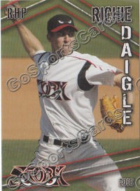 2008 Lake Elsinore Storm Richie Daigle