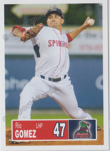 2018 Lowell Spinners Rio Gomez