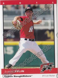 2011 Frisco RoughRiders Robbie Erlin