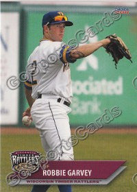 2011 Wisconsin Timber Rattlers Robbie Garvey