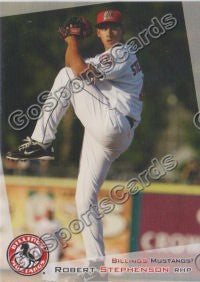 2012 Billings Mustangs Robert Stephenson