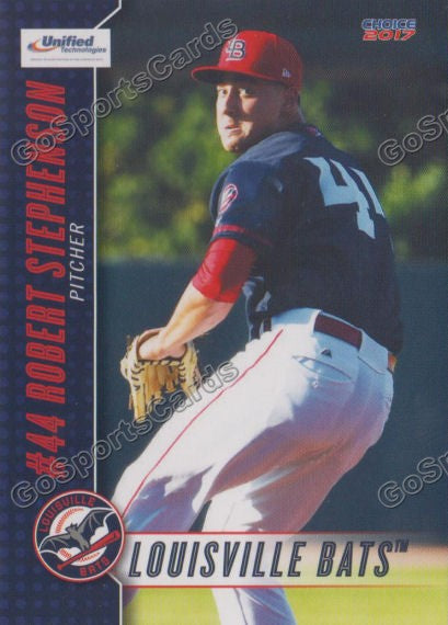 2017 Louisville Bats Robert Stephenson