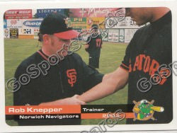 2003 Norwich Navigators Rob Knepper