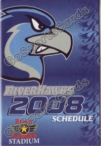 2008 Rockford Riverhawks Pocket Schedule