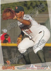 2012 Boise Hawks Rock Shoulders