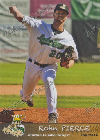 2016 Clinton LumberKings Update Rohn Pierce