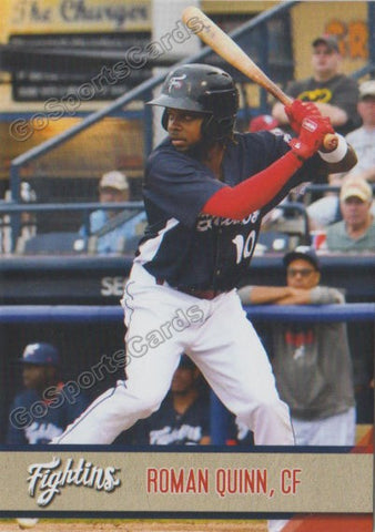 2018 Reading Fightin Phils Update Roman Quinn